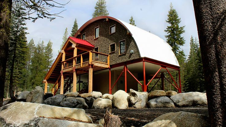 17 best images about quonset hut homes i love on pinterest for Cabin kits california