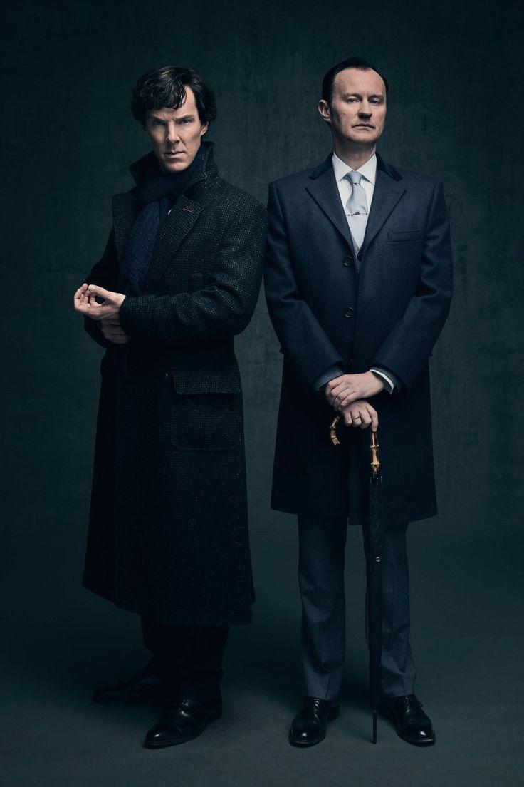 Sherlock and Mycroft - New Season 4 Promo still