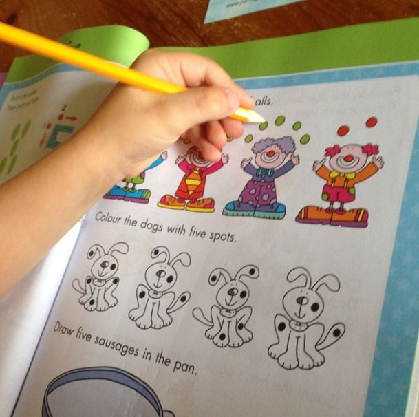 """""""Practicing his counting and number skills with @parragonbooks #summerwithgoldstars"""""""
