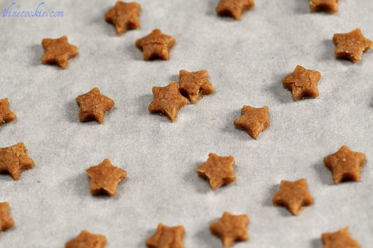 These peanut butter dog treats only take 4 ingredients, all of which you probably have n your pantry right now.  Make something special for your special pooch.