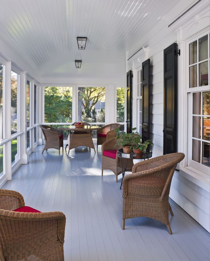 18 Great Traditional Front Porch Design Ideas: Best 25+ Screened Front Porches Ideas On Pinterest