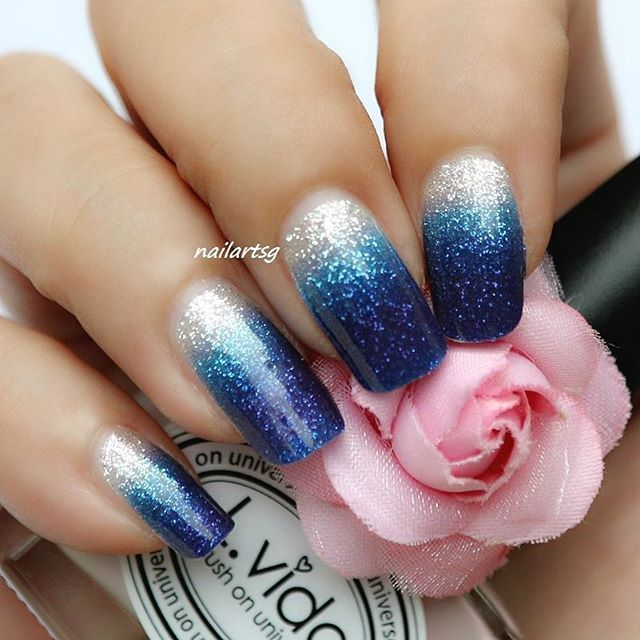 Attractive Blue Nail Designs That Will Leave You Speechless