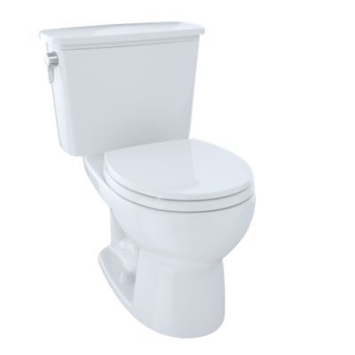 This high profile, two-piece toilet is transitional in design, featuring the quiet advantages of our powerful E-Max flushing system.