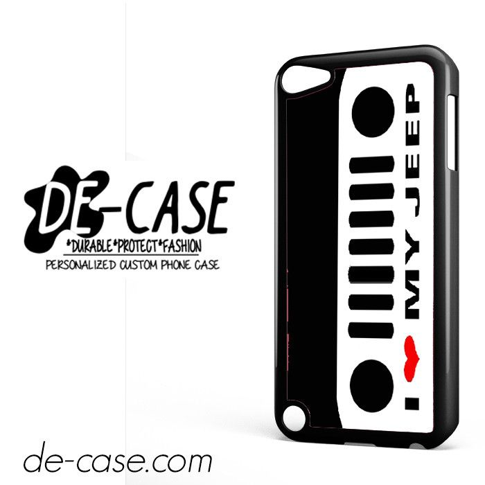 I Love My Jeep DEAL-5473 Apple Phonecase Cover For Ipod Touch 5