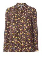 Womens Floral Print Shirt- Multi Colour