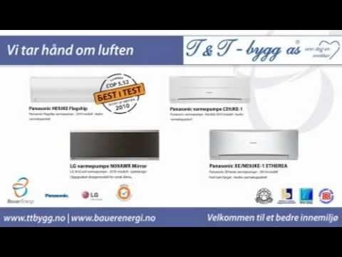 Varmepumpe - Luft til luft Varmepumpe Horten Vestfold - T&T-bygg as