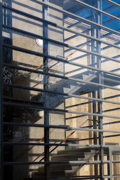 Stair facade detail - Oamaru Opera House, Williams Ross Architects