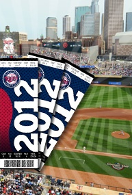 Minnesota Twins tickets!  Gotta get to a game with the folks and my awesome cuzins!