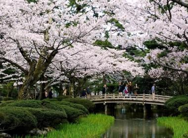 Kenroku-en, located in Ishikawa Prefecture – one of the most beautiful gardens…