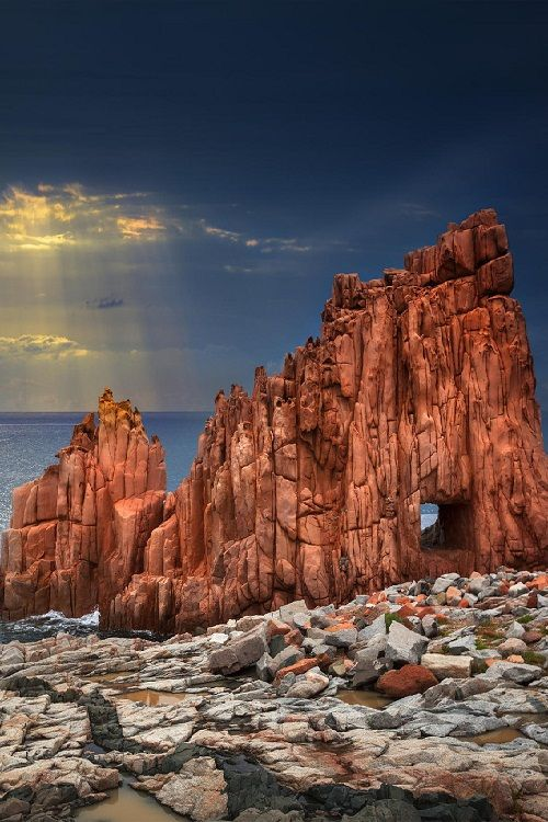 """Red Rocks by Marco Carmassi """""""