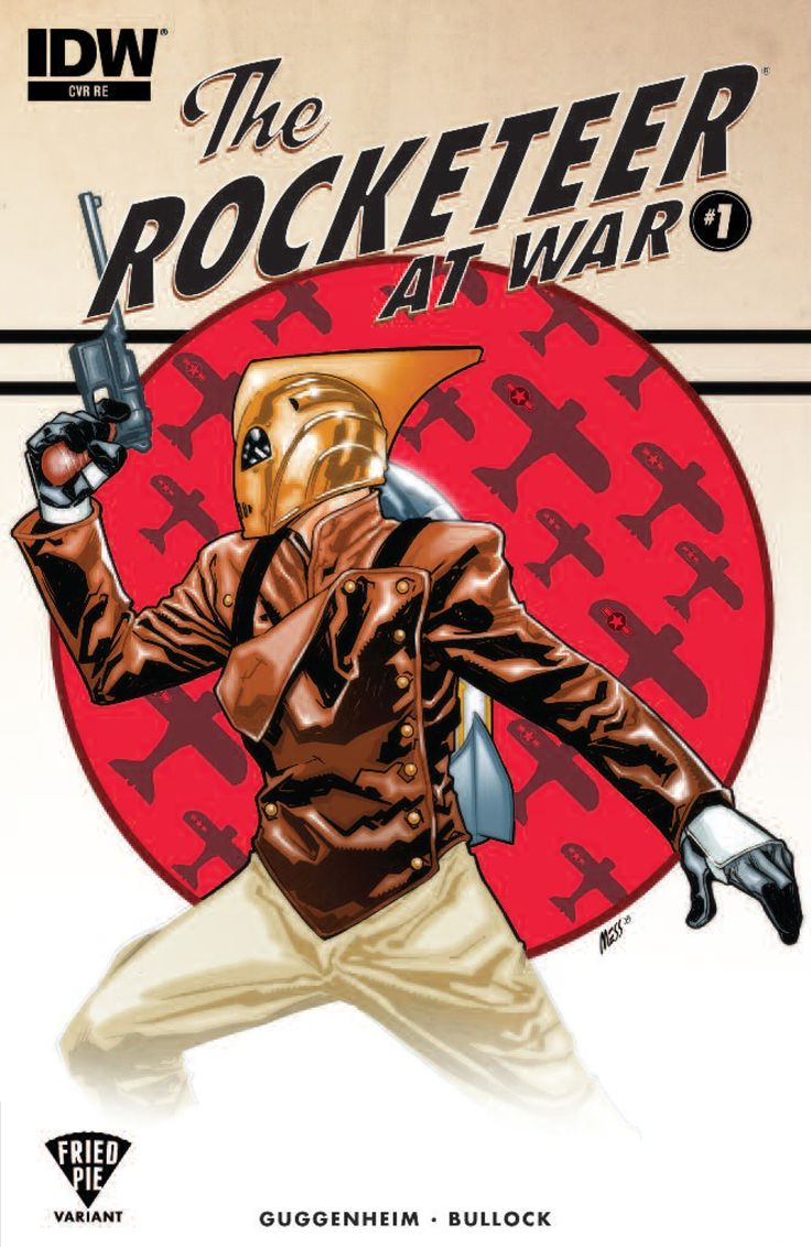 The Rocketeer at War #1  Publisher: IDW Comics Release Date: 12/23/15 Cover Artist: David Messina