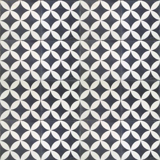 Dramatic Contrast: 20 Gorgeous Black & White Tile Patterns Shopping Guide | Apartment Therapy