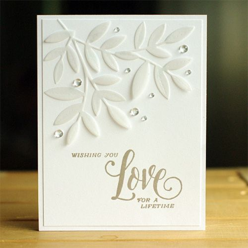 Or use for Sympathy....Wedding Card