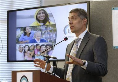 Premiums may rise 40 percent under PPACA - Health insurance premiums on average could rise by 40 percent under the Patient Protection and Affordable Care Act, a new study claims.  Blue Shield of California CEO Paul Markovich discusses Covered California. (AP Photo/Rich Pedroncelli)