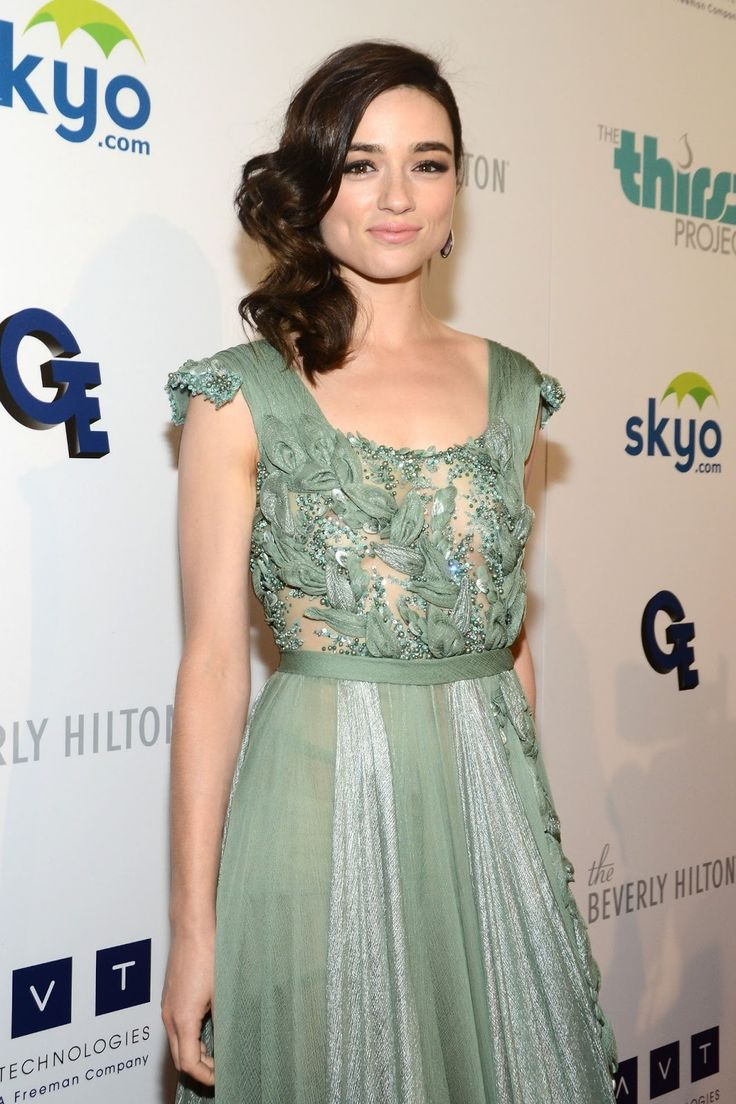 Crystal Reed.   Actress in 'Crazy, Stupid, Love.,' 'Skyline,' and 'Teen Wolf.'       -------      http://www.imdb.com/name/nm3706952