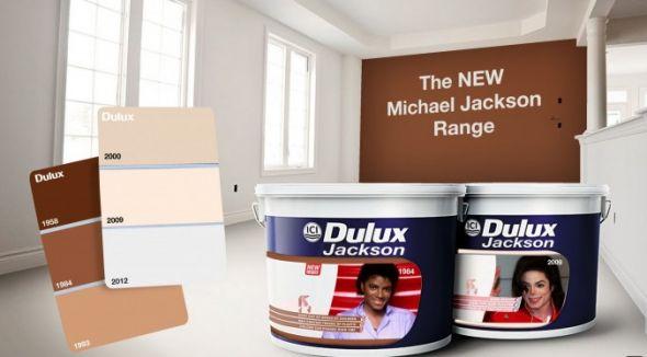 The Jacko Range - Dulux paint