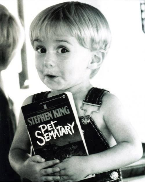 Do you think he liked it? Gage from Stephen King's Pet Sematary