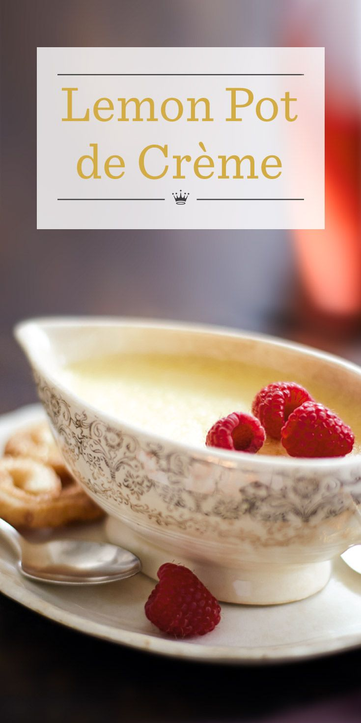 Lemon Pot de Crème Recipe | Try a twist on traditional French custard ...
