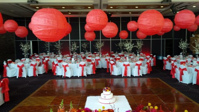 #Chinese Inspired Wedding Jaye and Marco.  Paramount Event Hire #WeddingEventStylistsSydney