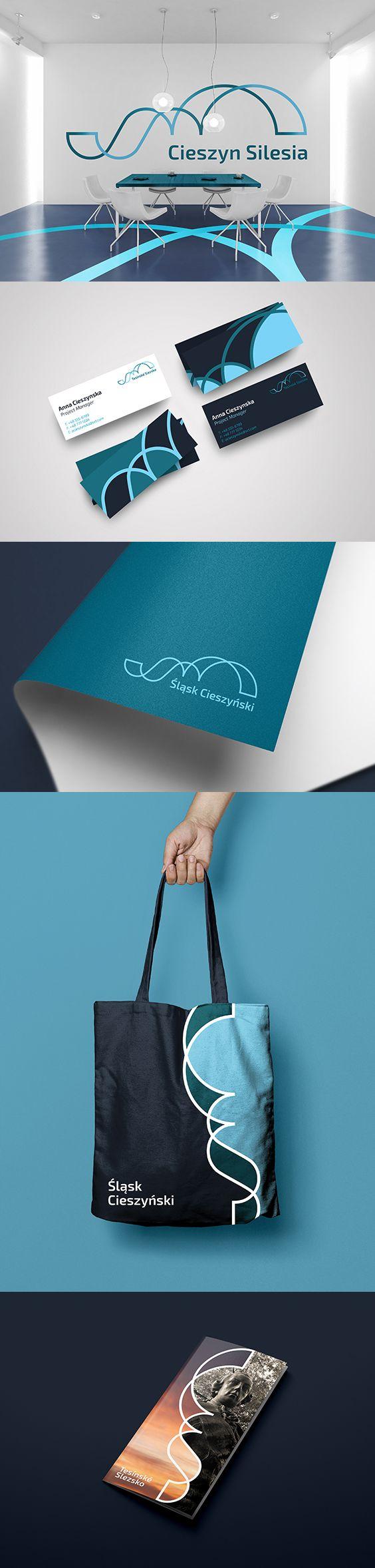 Cieszyn Silesia - Slask Cieszynski - Logo Concept and Branding by ZIIJN https://ziijn.myportfolio.com