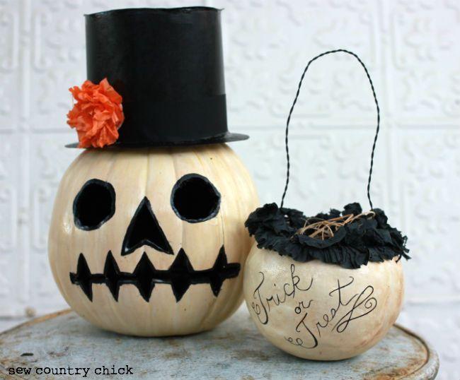 easy pumpkin decorating tutorials