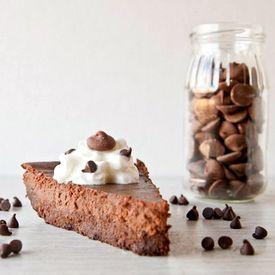 Triple Chocolate Flourless Brownie Bottom Cheesecake | #glutenfree # ...