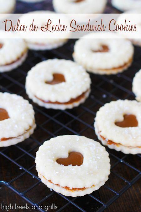 Dulce de Leche Sandwich Cookies.