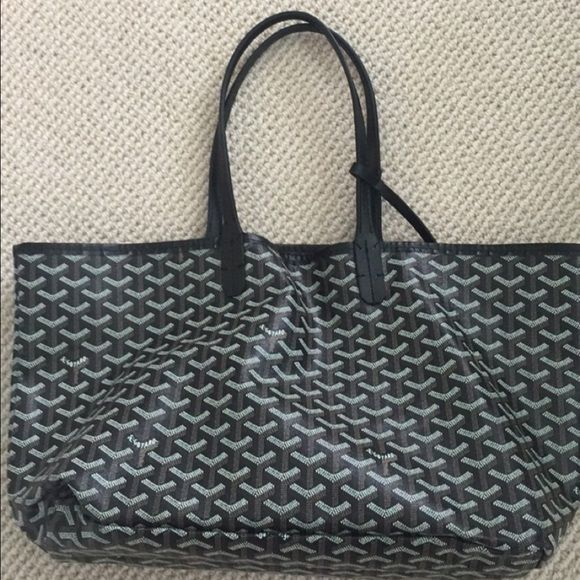 Goyard Tote price reflects authenticity! good rep. look for lowest 155 thru ️️ Only worn twice. May do trades Bags Totes