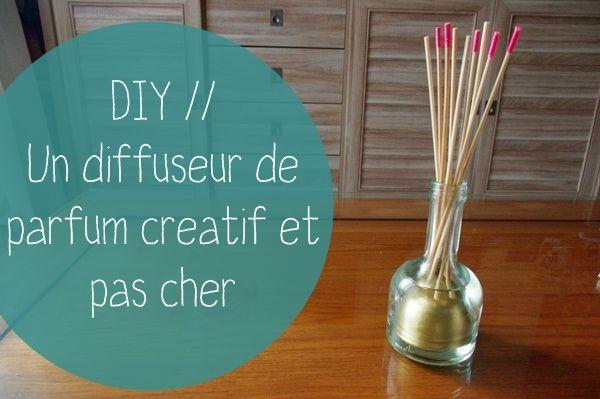 DiY // Le diffuseur de parfum par Garlotte - Mymy Cracra