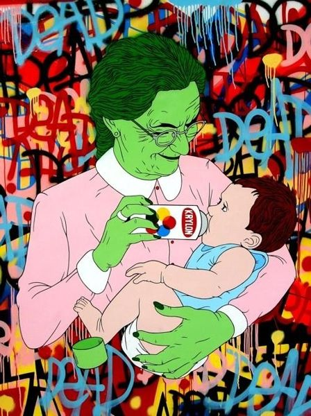 """"""" Paint Runs In The Family by Ben Frost """" soooo dope!"""
