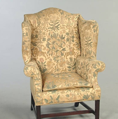 18th Century George Iii Wingback Chair 1700 S Colonial
