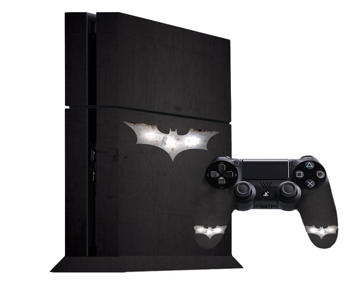 Batman PS4 Decal
