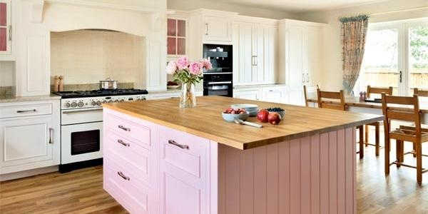 Colourful kitchen renovation   Period Living