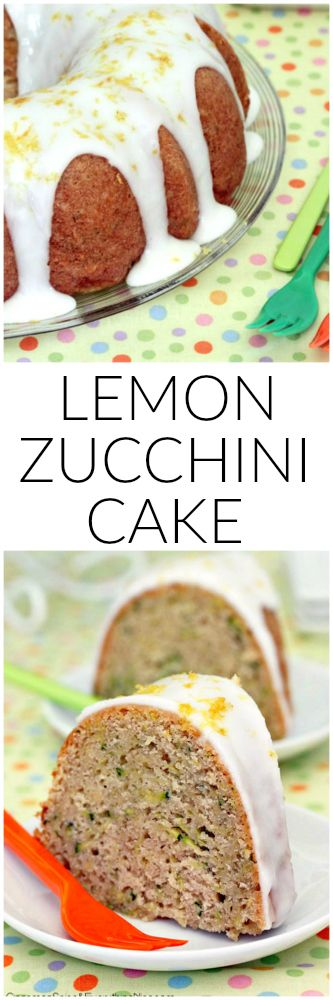 Lemon Sunshine Zucchini Cake