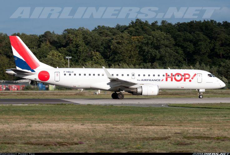 Embraer ERJ-190LR, HOP!, F-HBLD, cn 19000113, HOP! delivered 31.3.2013. Foto: Frankfurt, Germany, 15.9.2015.