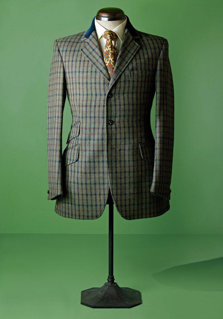 David Saxby 3-button-tweed-jacket
