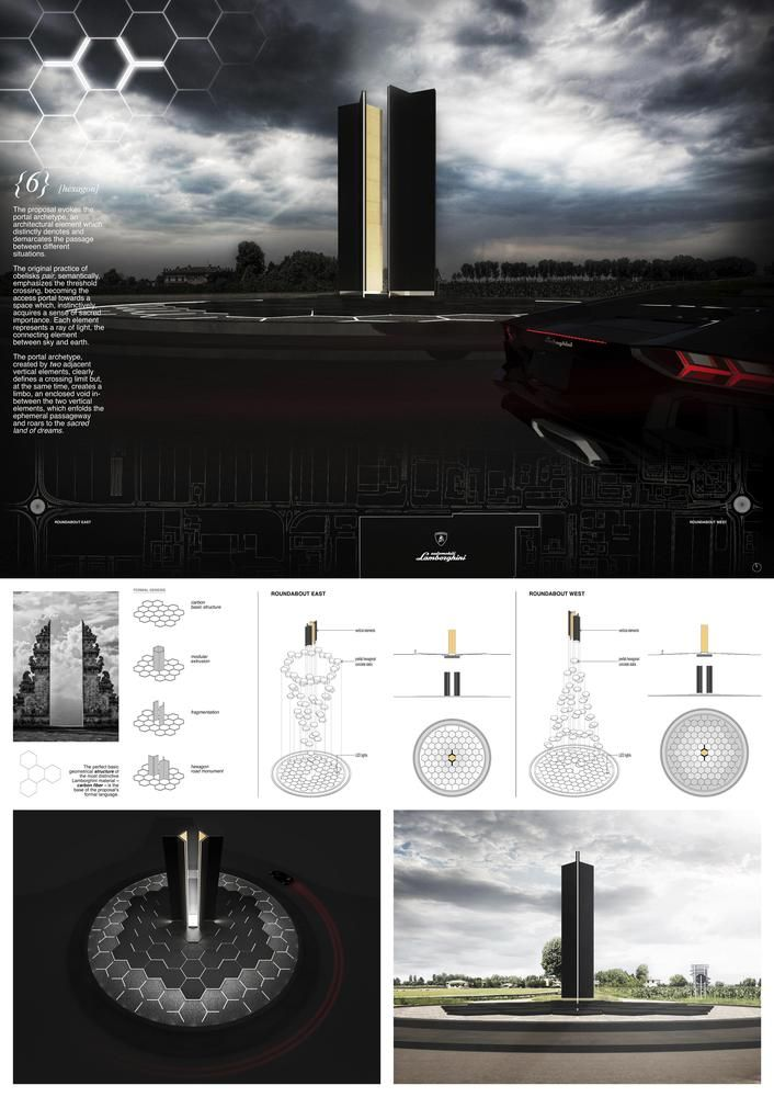 Gallery of YAC Announces Winning Projects for Two Road Monuments Celebrating Lamborghini's Legend - 75