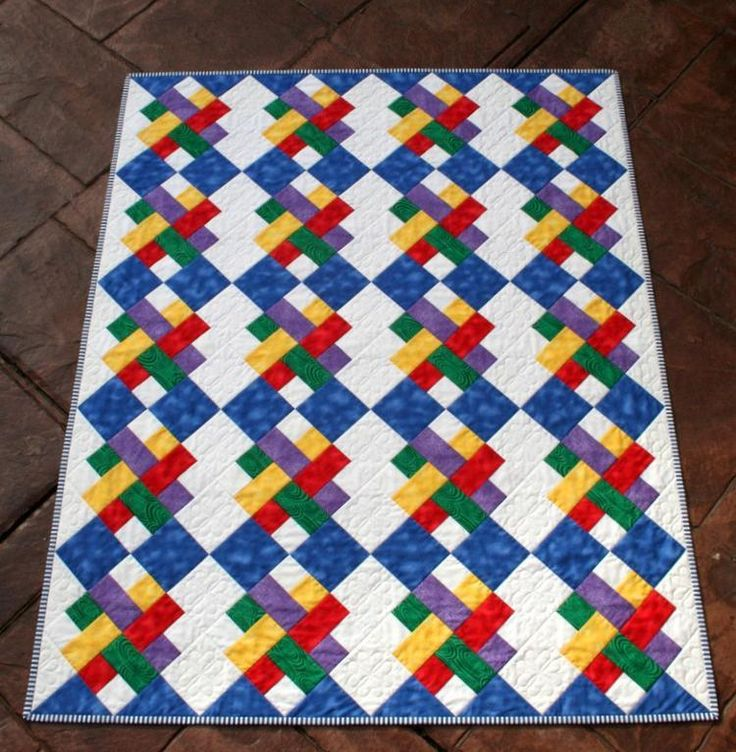 Let's Play Baby Quilt pattern on Craftsy.com. Primary colors are just right for baby.