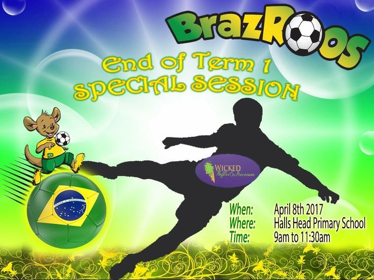 Tomorrow is our End of Term 1 Special Session!  Are you all ready for that big and fabulous soccer morning???  Don't forget meeting in Halls Head at 9am for EVERYONE.  Ate amanha pessoal