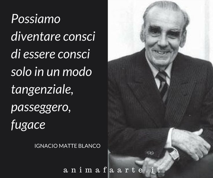 Ignacio Matte Blanco - tra matematica e psicoanalisi