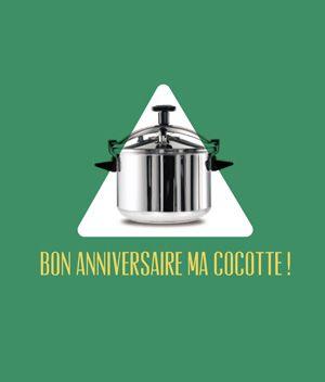 Happy Birthday la Cocotte!  =D