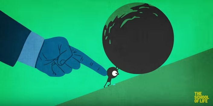 Go To School, Get A Job & Fit Into 'The System': Animated Video Illustrates The Madness Of Our World | Collective-Evolution