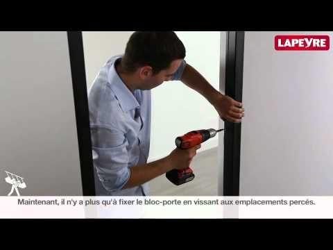 Monter un bloc porte sur cloison en placo youtube sous sol