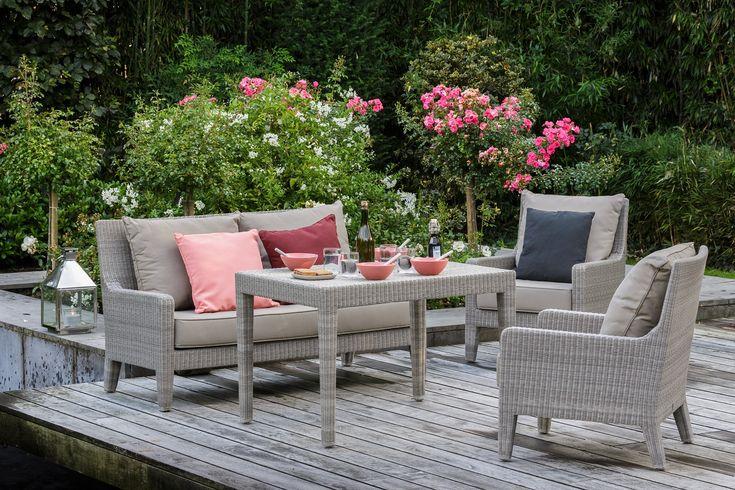 Stunning Salon De Jardin Resine Tressee Gris Bora Bora Hesperide ...