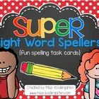 Super Sight Word Spellers are a fun way to get your students excited about practicing spelling their sight words or spelling words! You can set the...