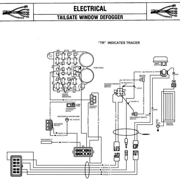 1985 Chevy Truck Fuse Box Diagram and Gmc Truck Fuse Box
