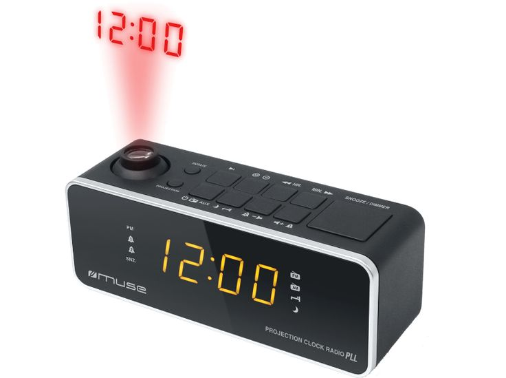 MUSE M-188 P rádiós ébresztőóra - radio alarm clock