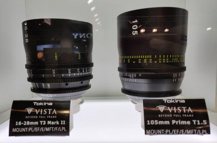 New Tokina MFT Cine lenses Tokina displayed two new Cine Micro Four