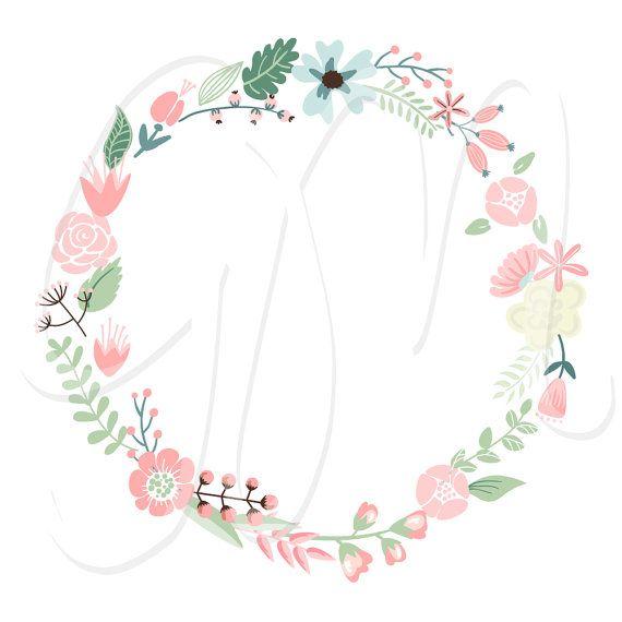 clipart flower wreath - photo #18