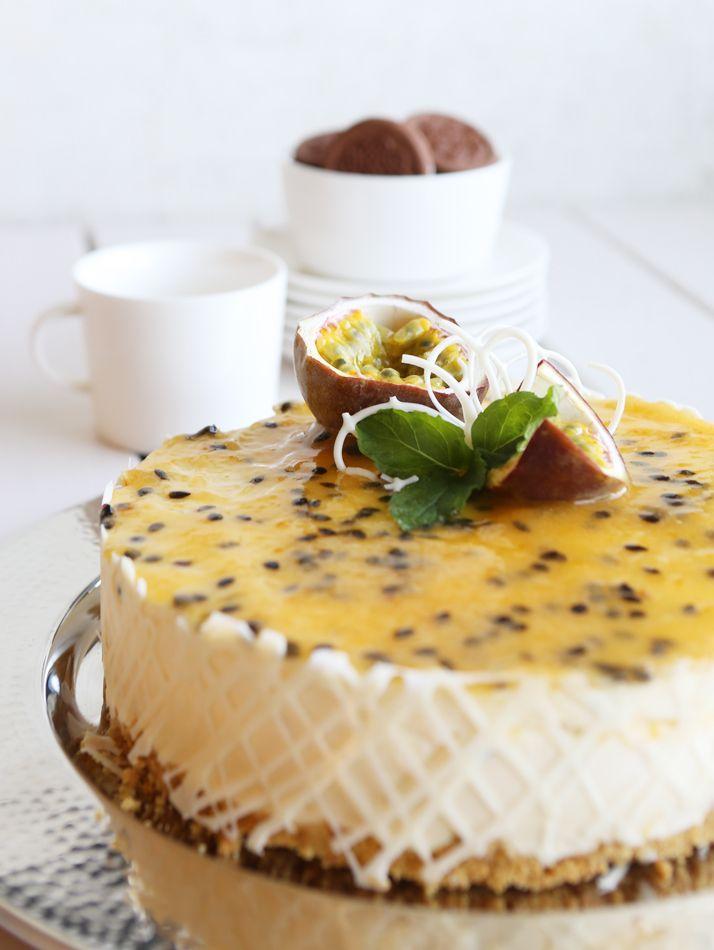 Lime-passion-juustokakku